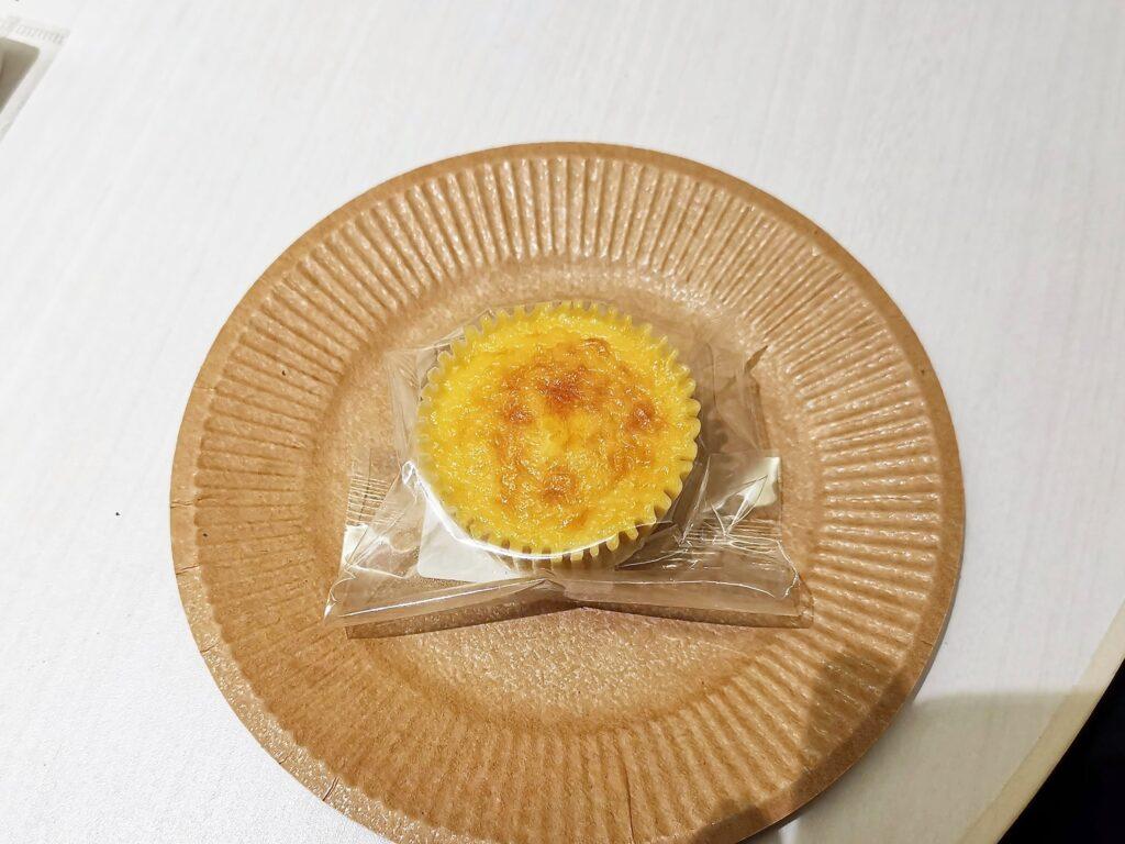 大阪・三国ヶ丘のル・グランシャリオのバスクチーズケーキの写真 (2)