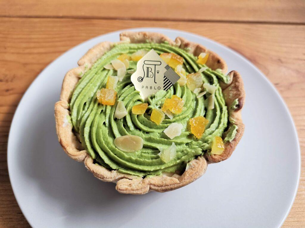 Green PABLO(グリーンパブロ)の「宇治抹茶とあずきのチーズタルト 小さいサイズ」の写真 (4)_R