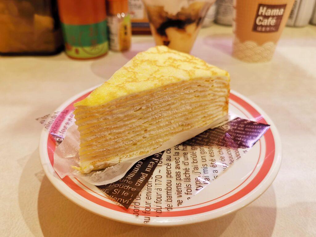 はま寿司の北海道ミルクレープの写真