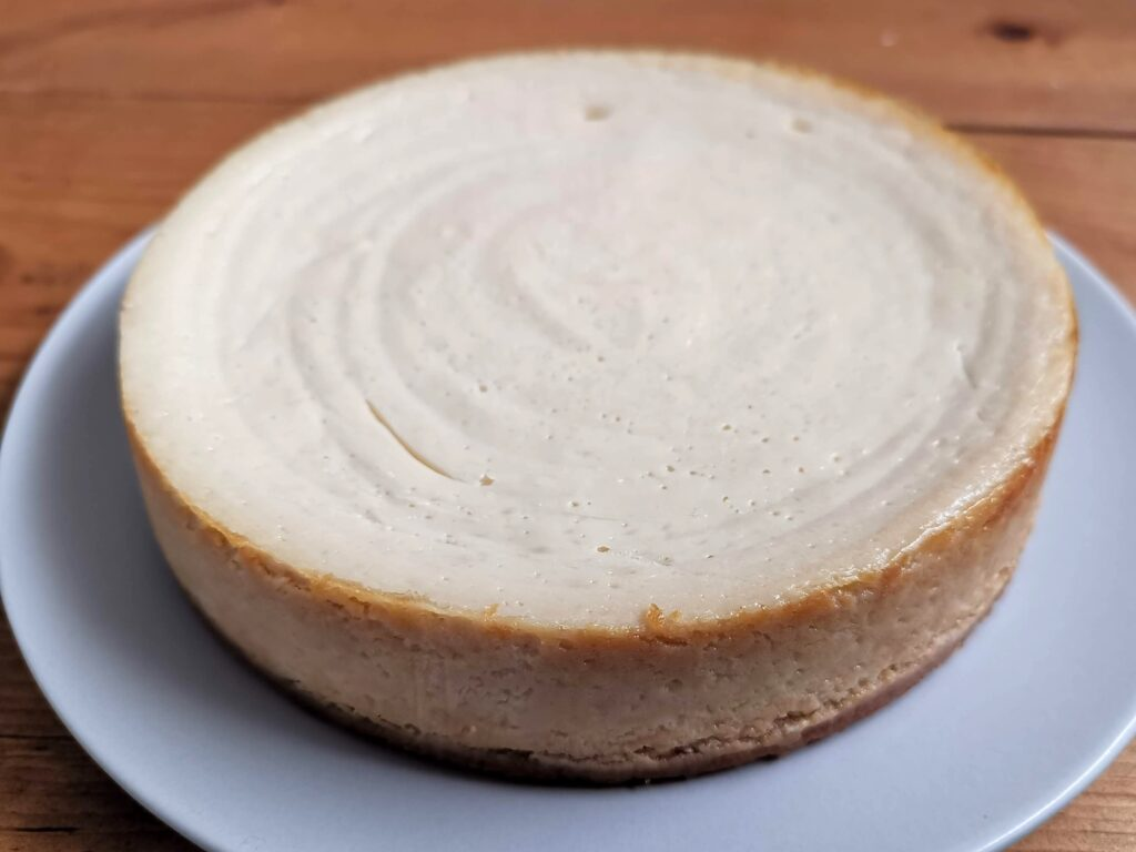 ピタゴラスイーツの豆腐のベイクドチーズケーキ(豆乳生まれのNYチーズケーキ)の写真