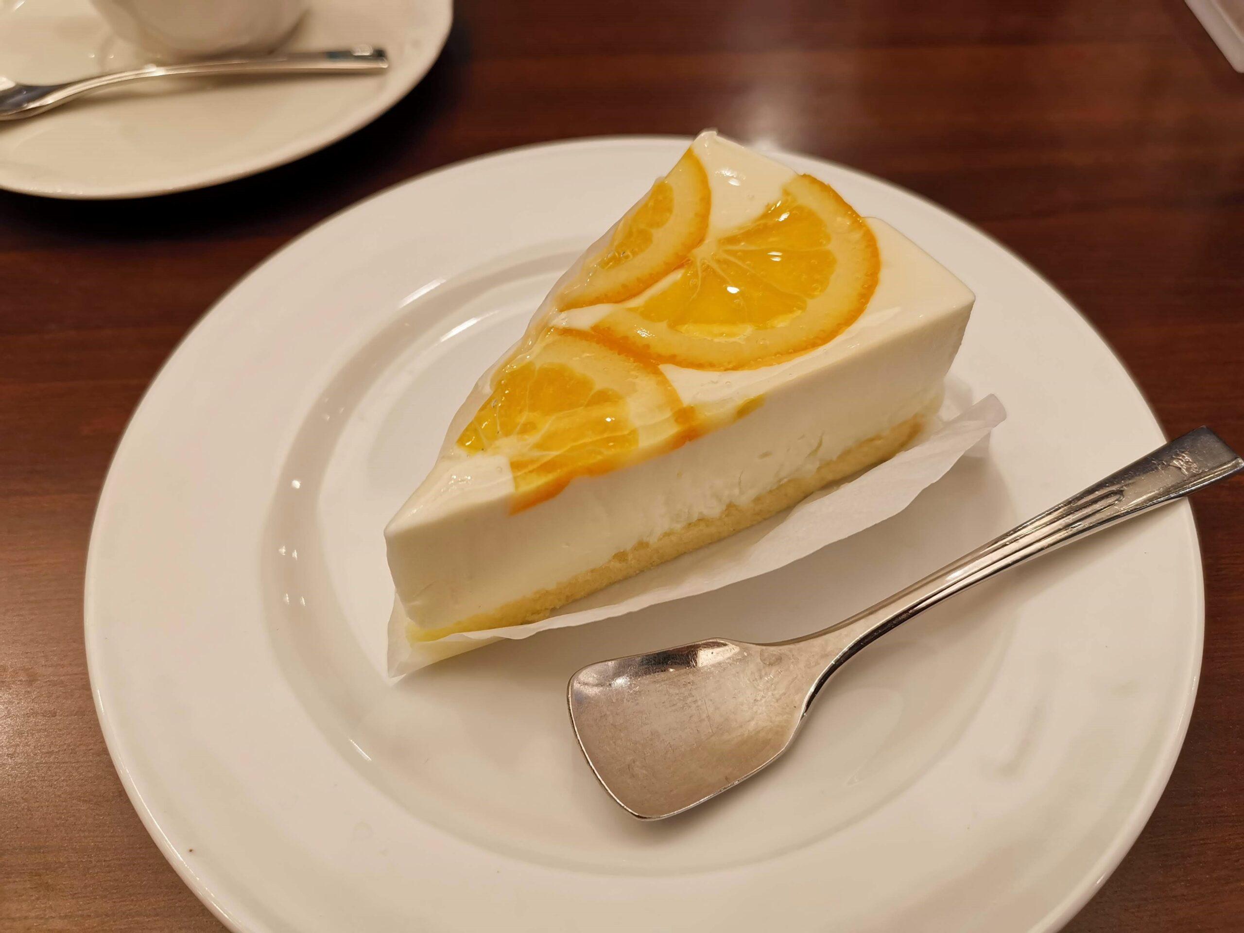 ルノアール オレンジレアチーズケーキ (9)_R