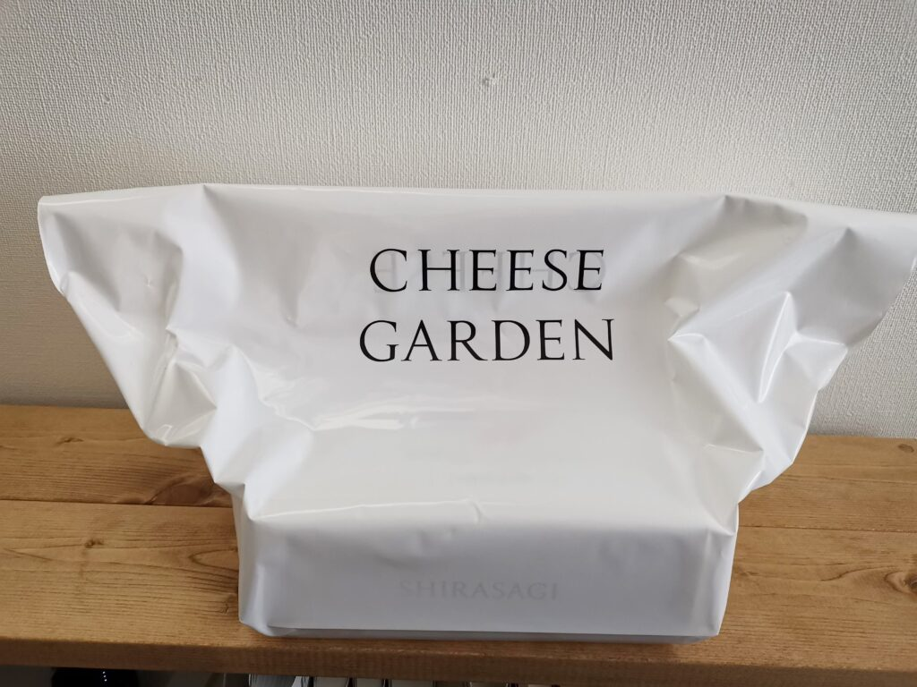 CHEESE GARDEN(チーズガーデン)の御用邸チーズケーキの写真 (1)