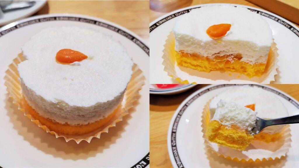 コメダ珈琲店の「口どけオレンジ」の写真 (11)