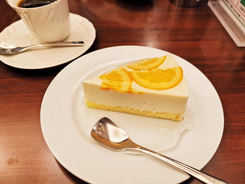 ルノアール オレンジレアチーズケーキ (11)_R