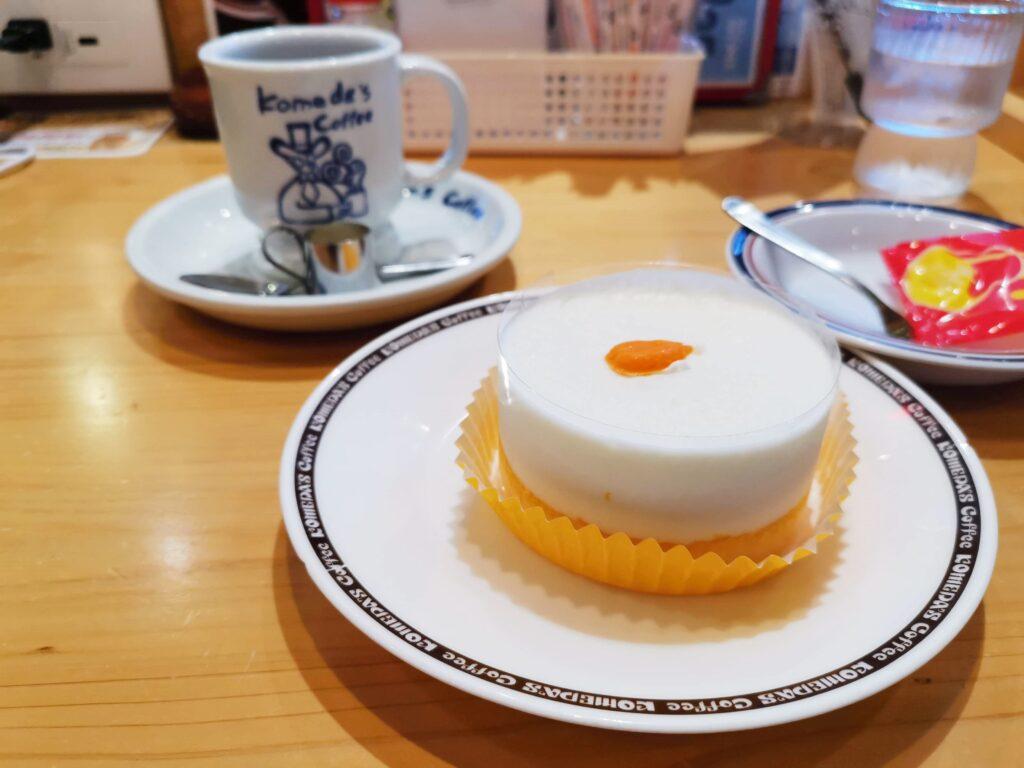 コメダ珈琲店の「口どけオレンジ」の写真 (2)