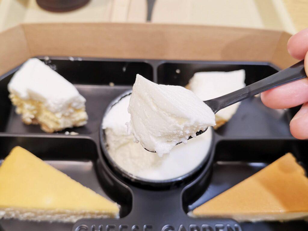 チーズガーデン(CHEESE GARDEN)のチーズケーキアソートのクレームダンジュの写真