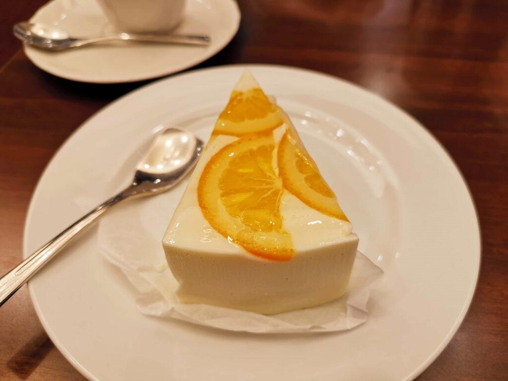 ルノアール オレンジレアチーズケーキ (10)_R