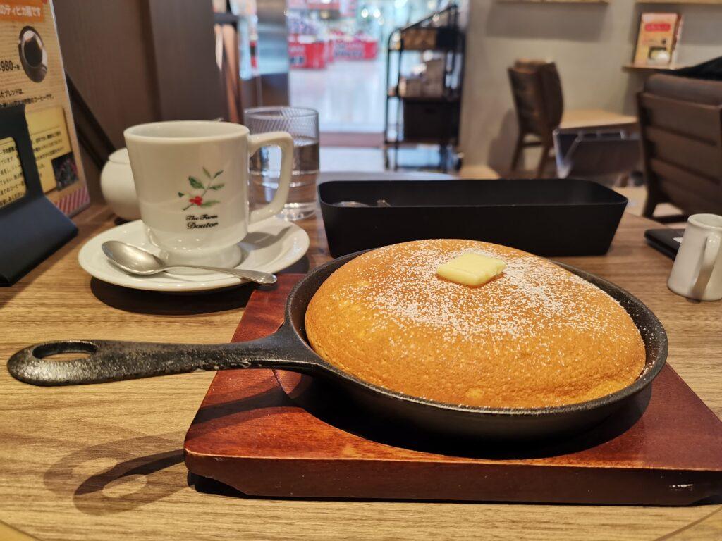 ドトール珈琲店のパンケーキの写真 (2)