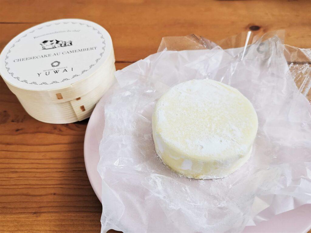 YUWAI(ユワイ) カマンベールチーズケーキの写真 (2)