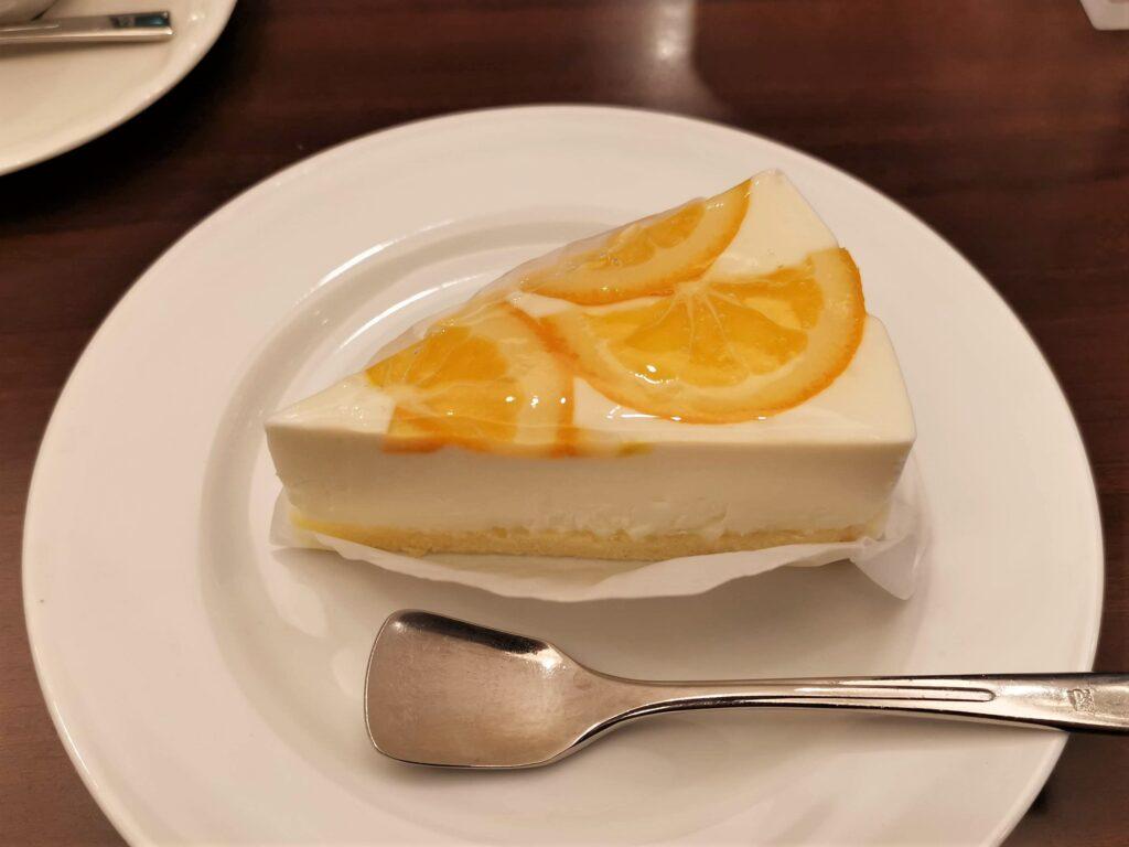ルノアール オレンジレアチーズケーキ (5)_R