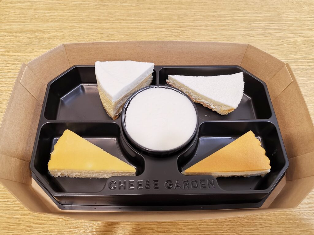 チーズガーデン(CHEESE GARDEN)のチーズケーキアソート (19)