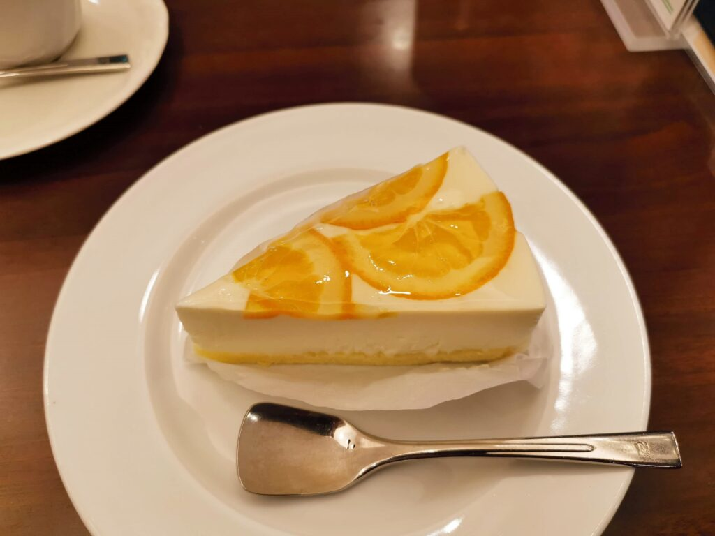 ルノアール オレンジレアチーズケーキ (7)_R