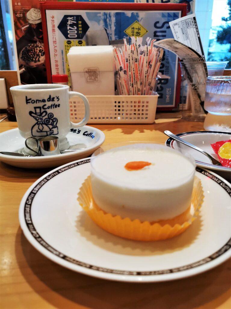 コメダ珈琲店の「口どけオレンジ」の写真 (3)