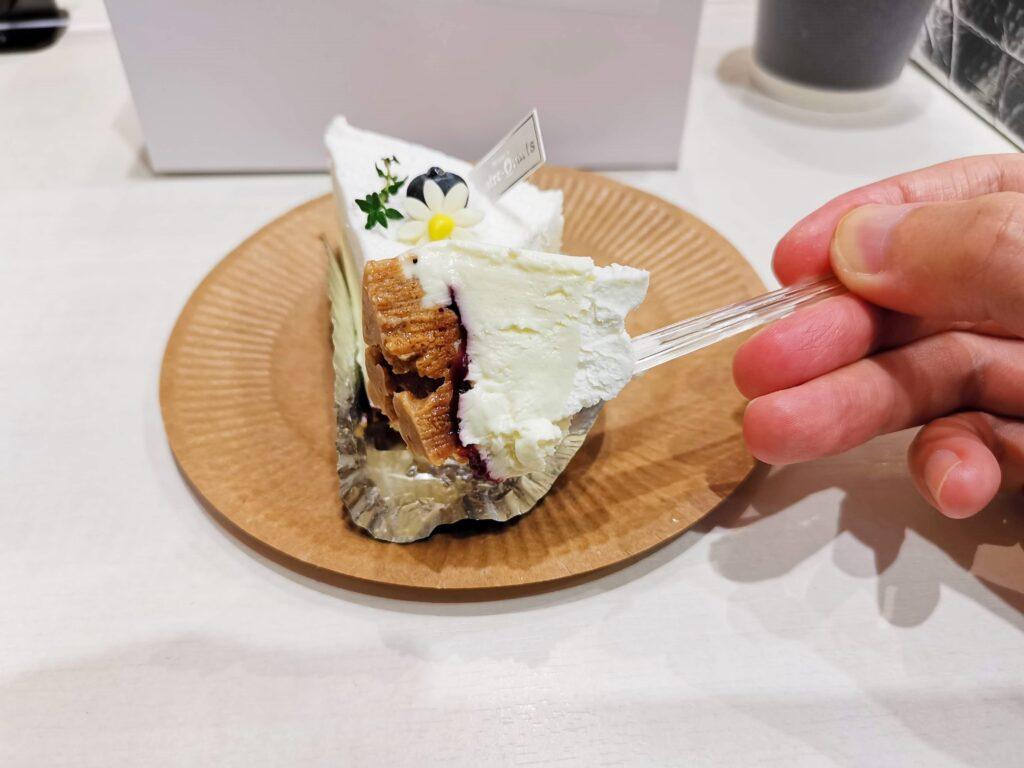 キャトルキャールのなめらかチーズケーキ (8)