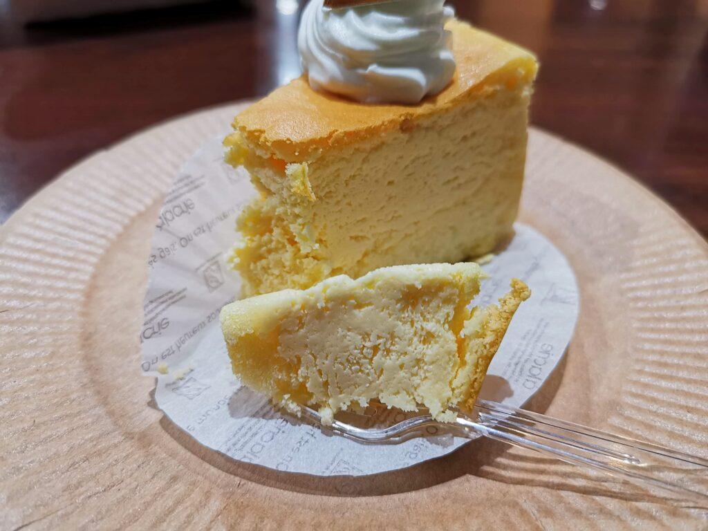 都立家政、パティスリーふじの木のスフレチーズケーキ(450円)