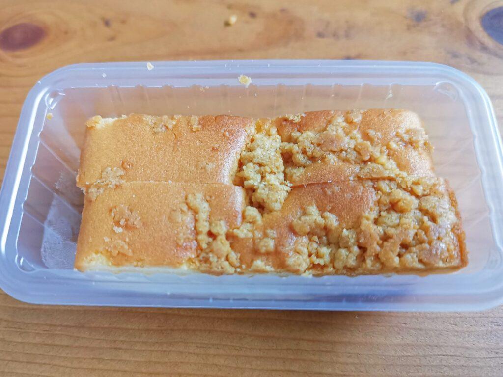 ファミリーマートの濃厚クランブルチーズケーキの写真 (5)
