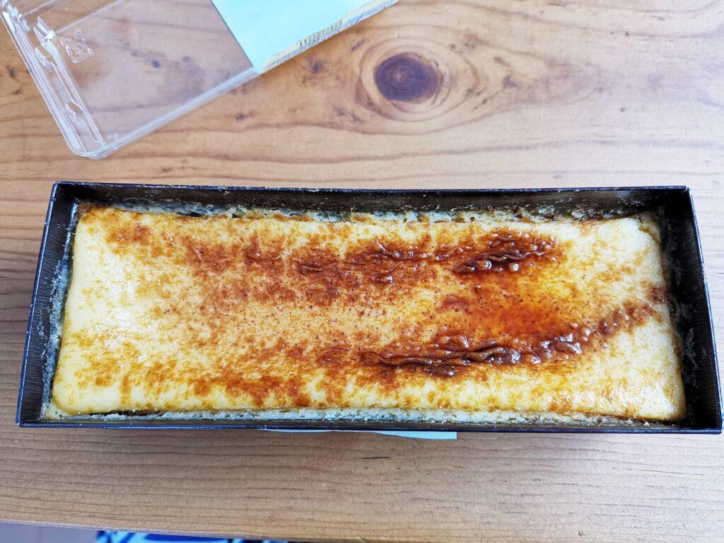 オイシス(ローソンストア100)バスク風カラメルチーズケーキ (7)