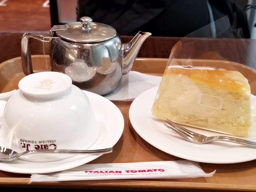 イタリアントマトカフェの3種のチーズスフレ (3)