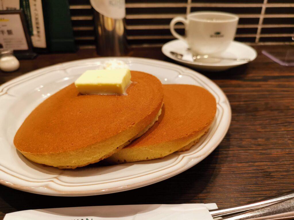 珈琲館のトラディショナルホットケーキ (4)