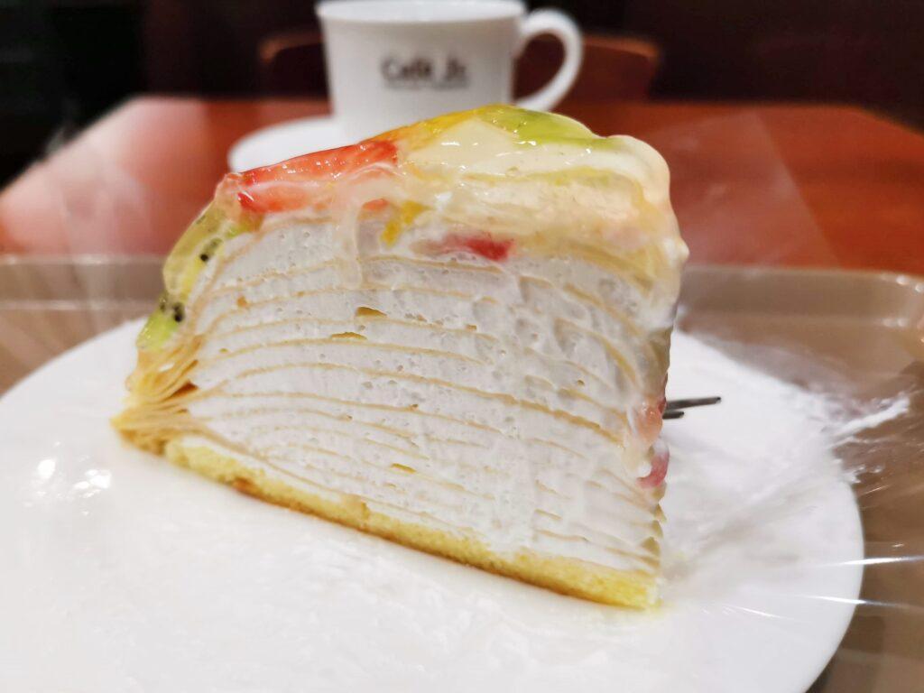イタリアントマトカフェのフルーツミルクレープ (ヨーグルトクリーム) (8)